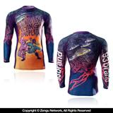"93 Brand ""Unidentified Flying Omoplata"" Rashguard"